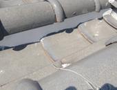 雨樋全交換、屋根漆喰補修工事