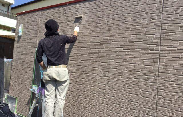 岡山県 玉野市 ガレージ 屋根外壁塗装