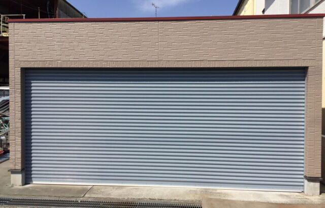 岡山県 玉野市 ガレージ 屋根 外壁塗装