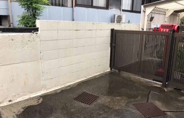 岡山県 玉野市 塀 浴室天井 塗装工事 H邸様