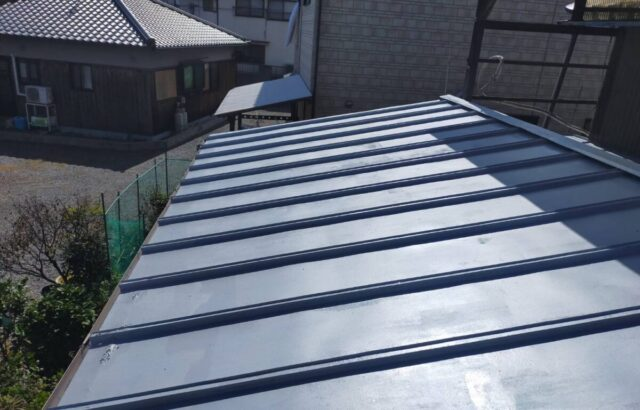 岡山県 玉野市 屋根 塗装工事 H様