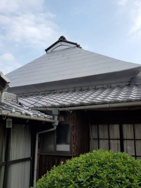 岡山県 玉野市 屋根塗装 無料見積もり M様邸